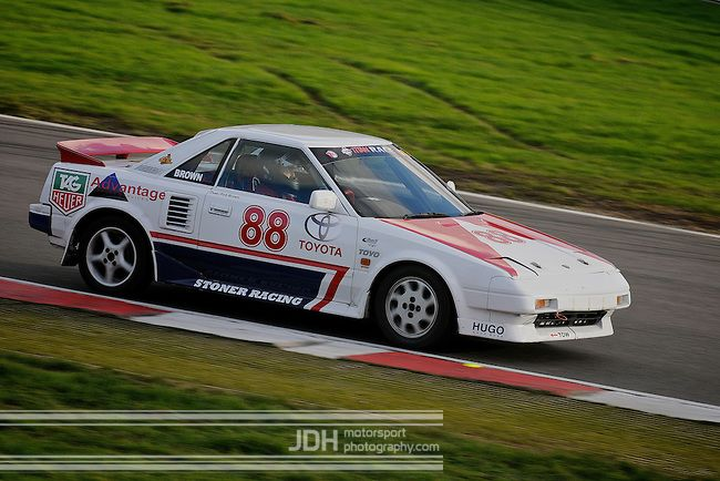 Rob Brown Toyota MR2 AW11 at MR2 Racing Series (via @Jonathan