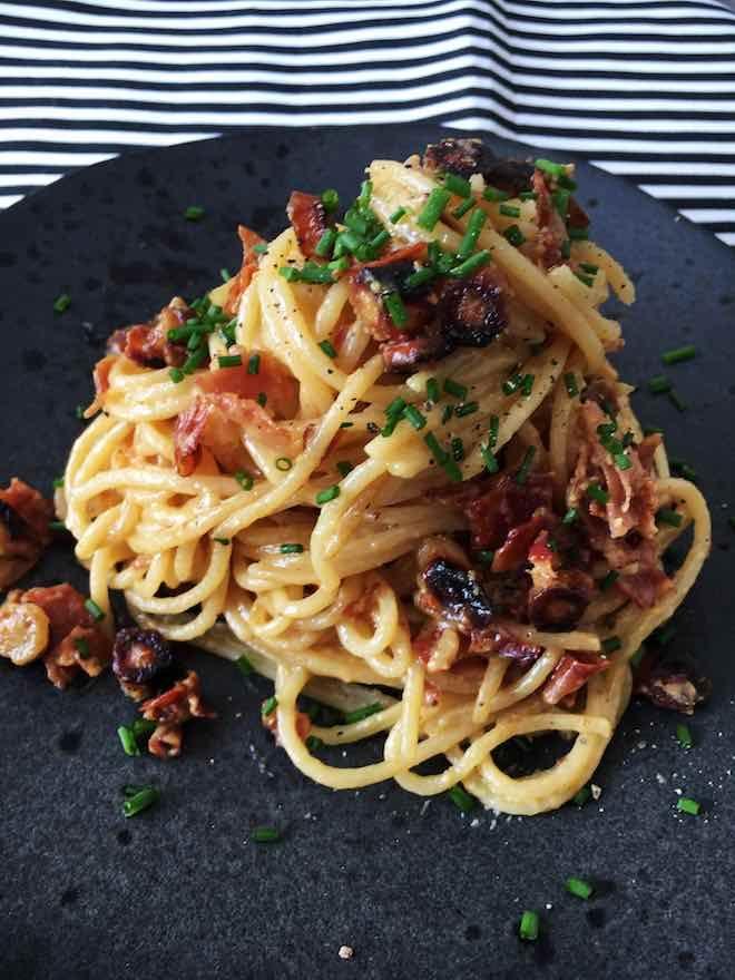 Photo of Recipe pasta with salsify carbonara / pastamaniac