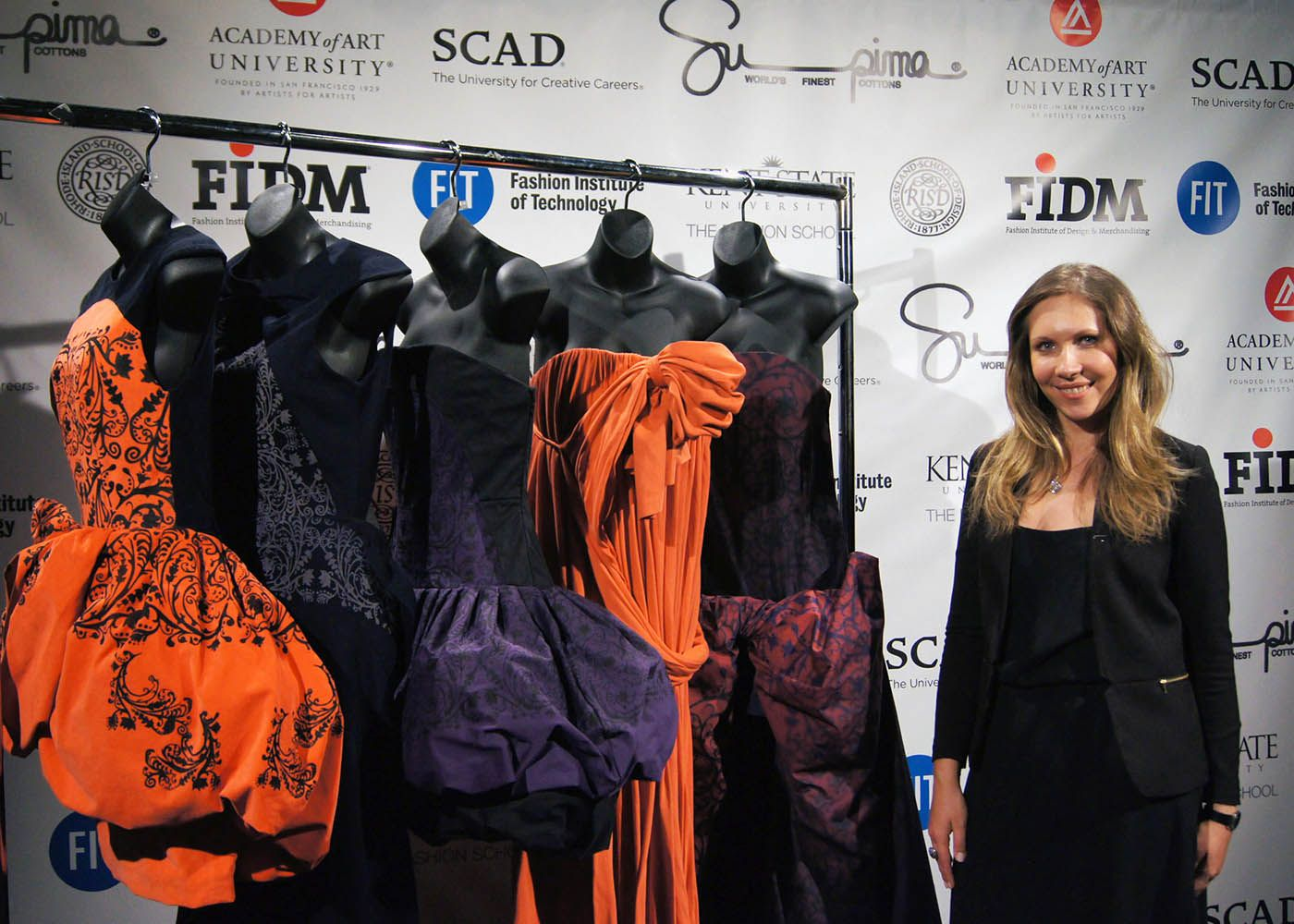 Kent State University Fashion School Graduate Anastasia Iafrate Was Named This Year S Winner Of The Prestigious Supima School Fashion Fashion University Style