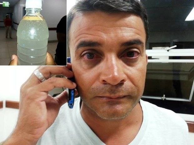 Visão La Flora: Inea investiga origem de mancha que causou interdi...