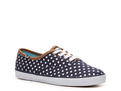 Keds Champion Dotted Canvas Sneaker