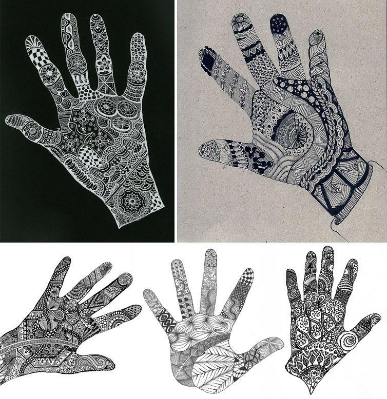 Scarabocchiare ad arte gli zentangle didatticarteblog for Zentangle per bambini