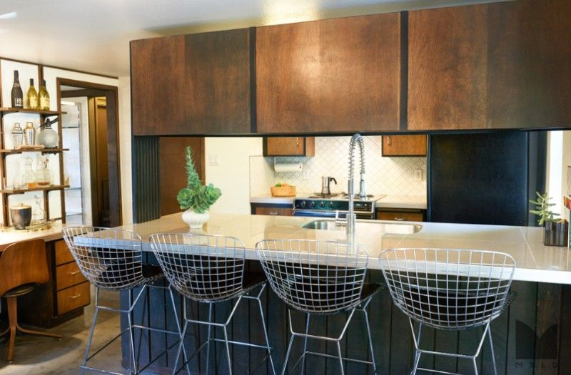 Mid-Century Modern Small Kitchen Design Ideas You\'ll Want to ...