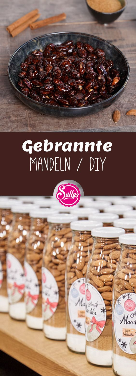 GEBRANNTE MANDELN IM GLAS / DIY