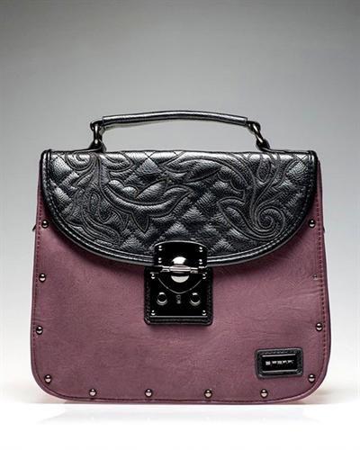 E.FERRI Color Block Embroidered Purse Made in Spain  PurseWomen #Bags #Wallets