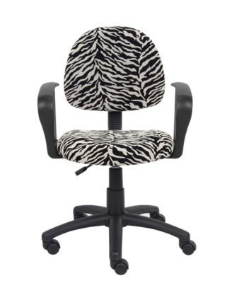 posture deluxe chair toddler plush boss office products black