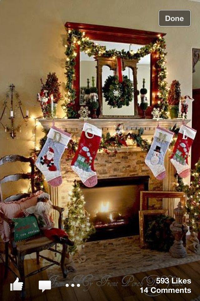 Very pretty Seasonal decorations Pinterest