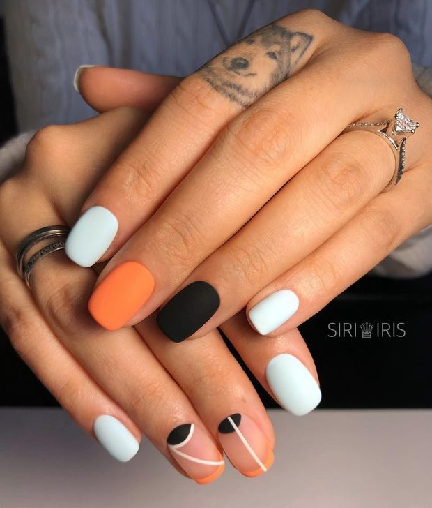 45 Creative Halloween Nail Art Designs Ideas You Need To Try Asap In 2020 Cute Nails For Fall Minimalist Nails Nail Designs