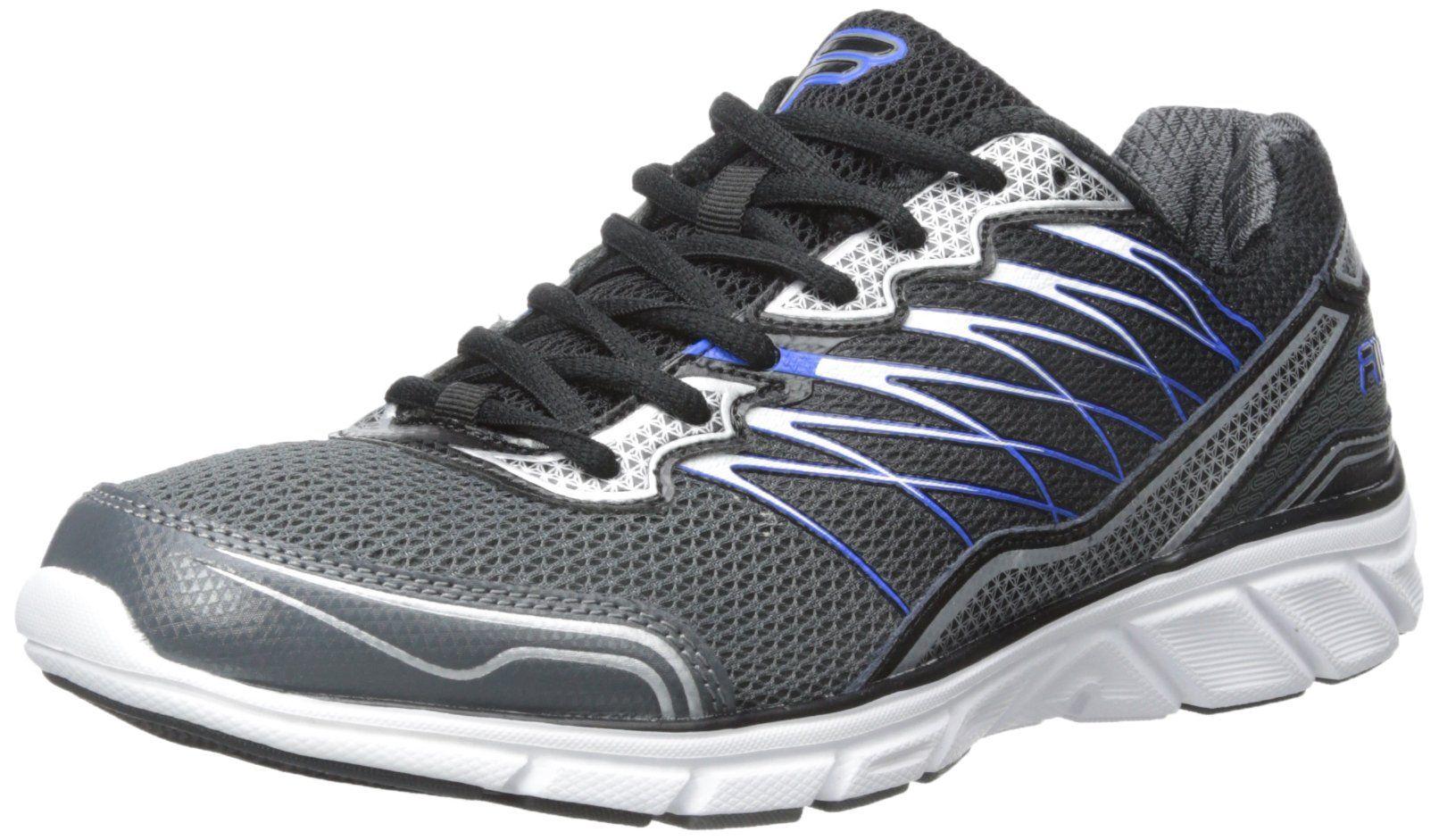 Fila Men's Countdown 2-m Running Shoe, Castlerock/Black/Prince Blue,