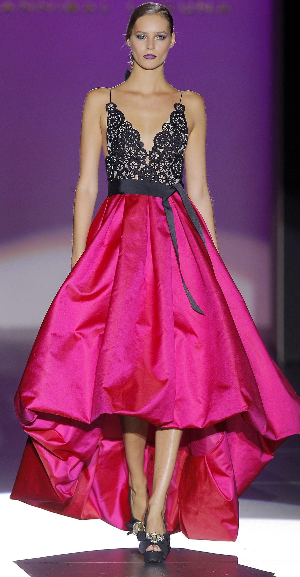 Vestidos de Fiesta - Colección 2013 Hannibal Laguna | Fashion&moda ...