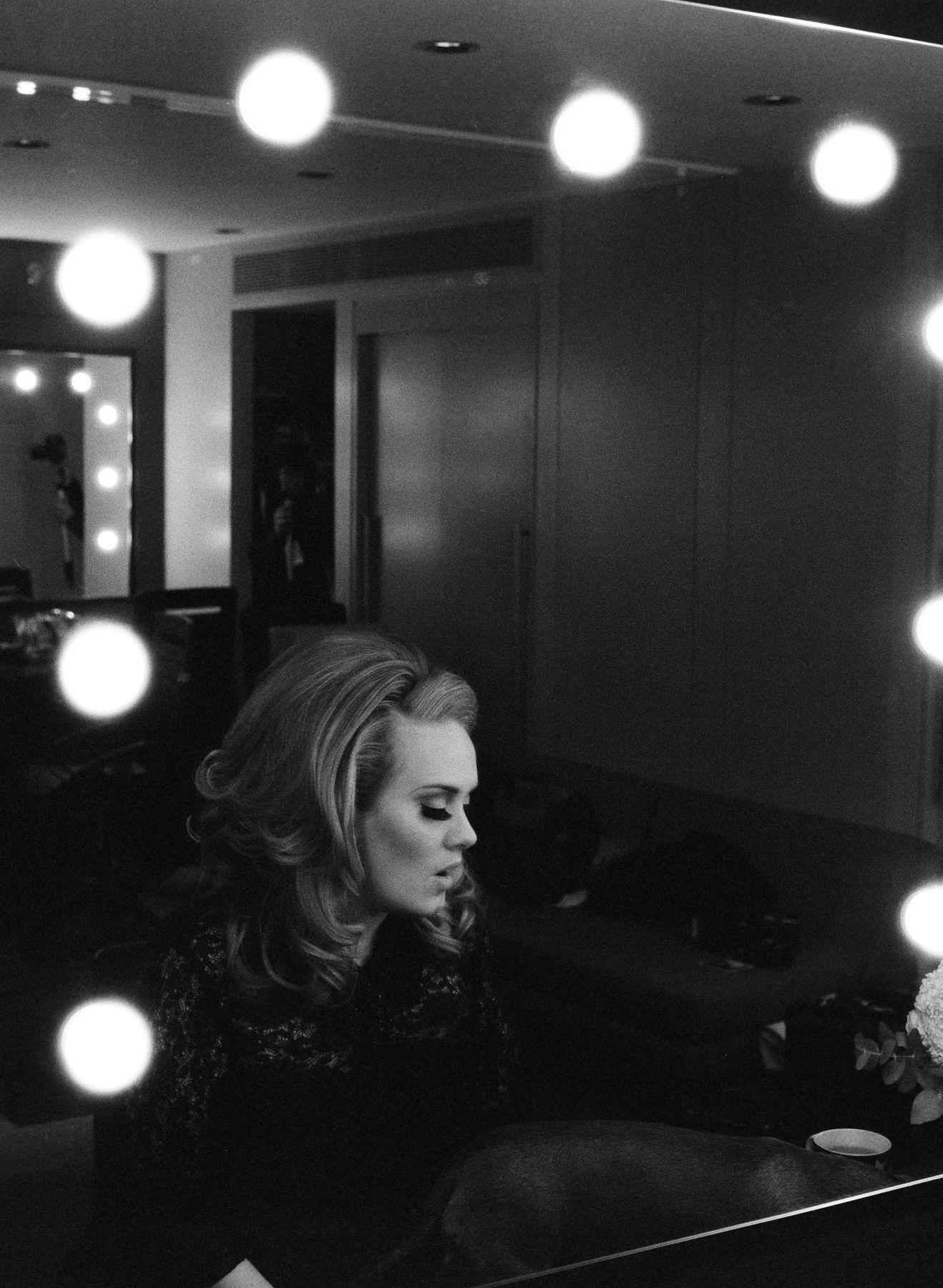 Adele Portrait By American Photographer Lauren Dukoff Adele