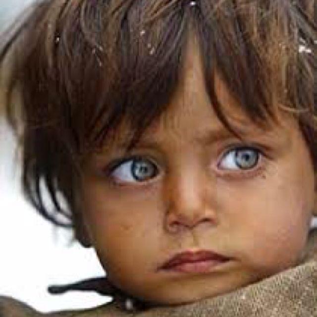 Kashmiri Eyes Kashmir baby gi...