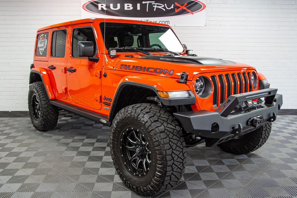 2019 Jeep Wrangler Rubicon Unlimited Jl Hemi Punk N Orange Jeep
