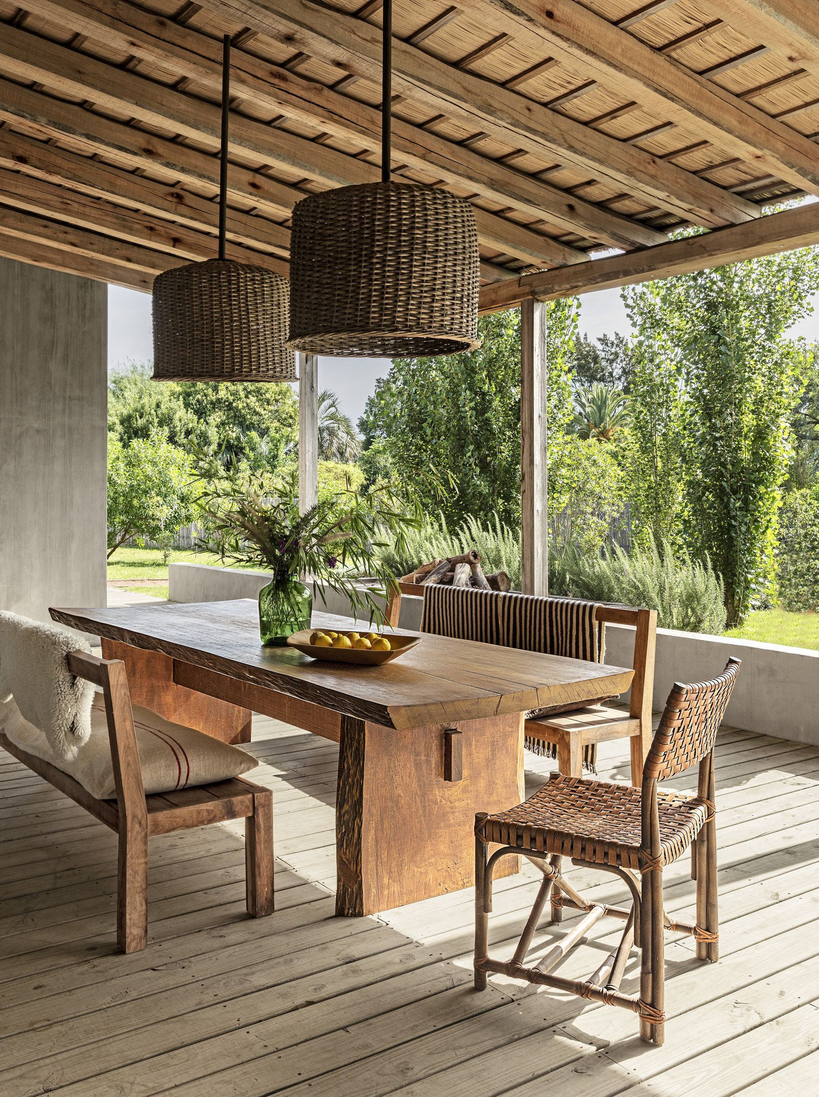 Gartenstühle Micasa A Look Inside A Stunning Rustic And Modern Home In Uruguay
