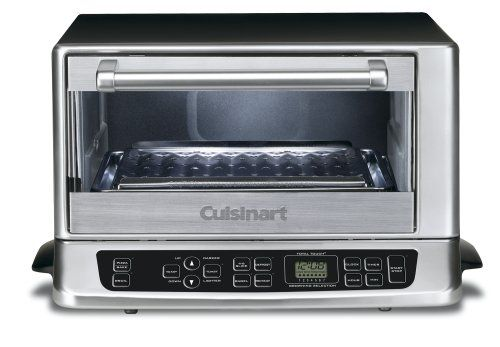 Cuisinart Tob 155 Toaster Oven Stainless And Black Toaster Oven Toaster Cuisinart