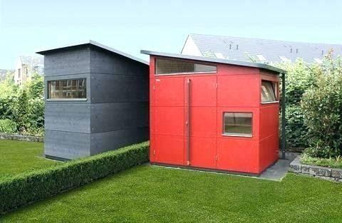 Gartenhaus Holz Selber Bauen Kosten Gartenhaus modern