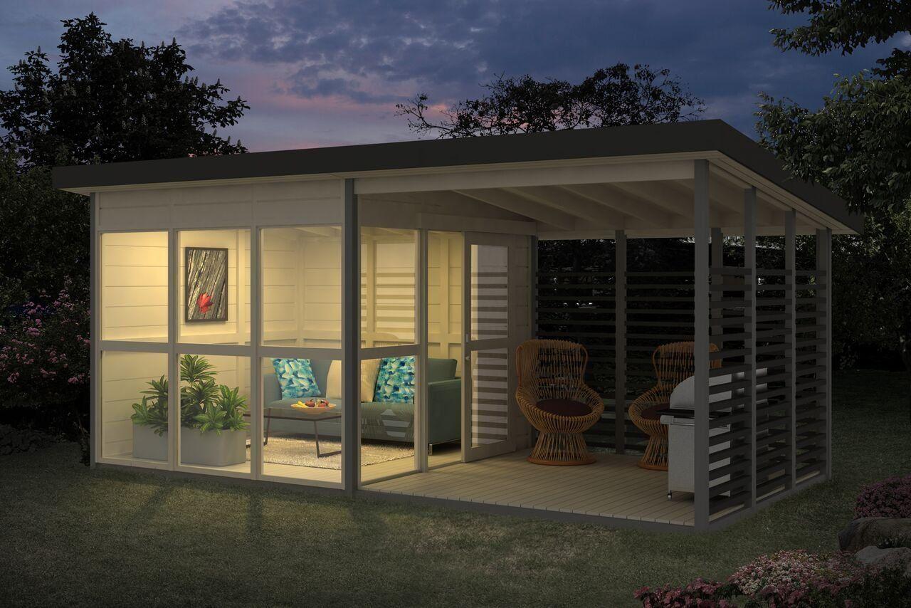 Amazon Com Allwood Solvalla 172 Sqf Studio Kit Cabin 400 x 300