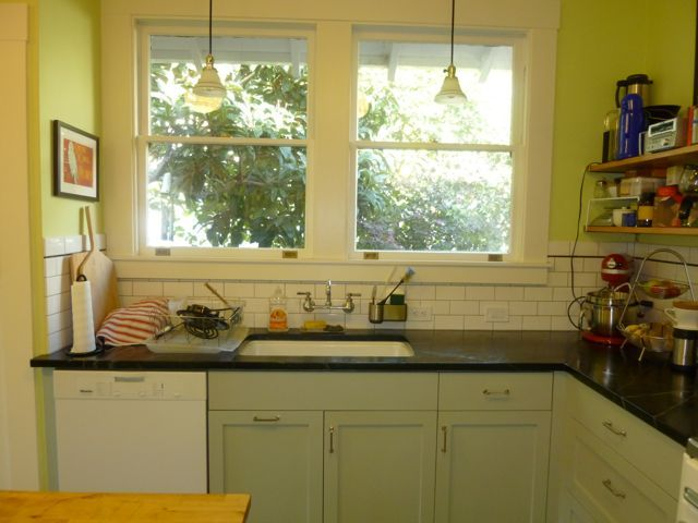 arts and crafts kitchen cabinets outdoor roof the remodel of in our 1915 ...