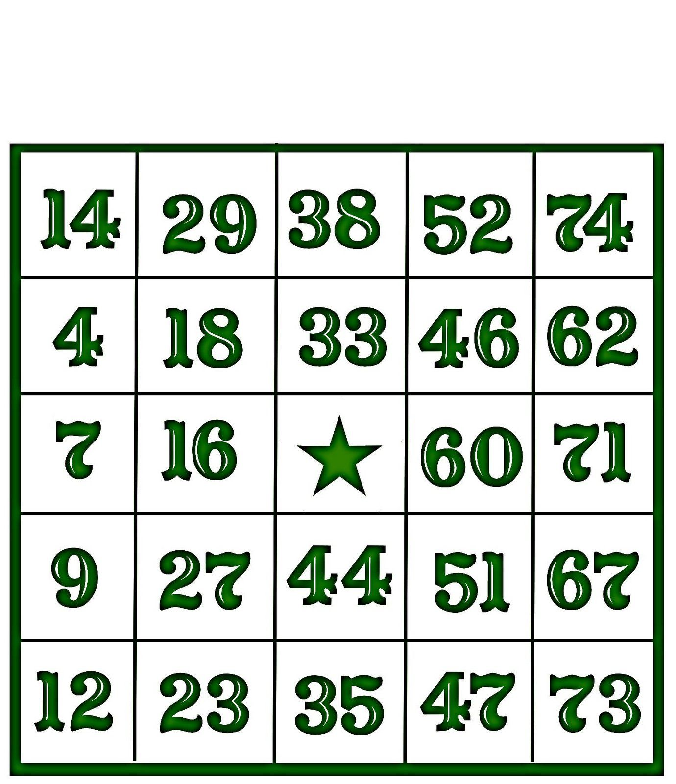Christine Zani: Bingo Card Printables to Share | Teaching and ...