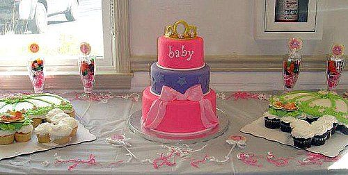 How to decorate your princess baby shower?