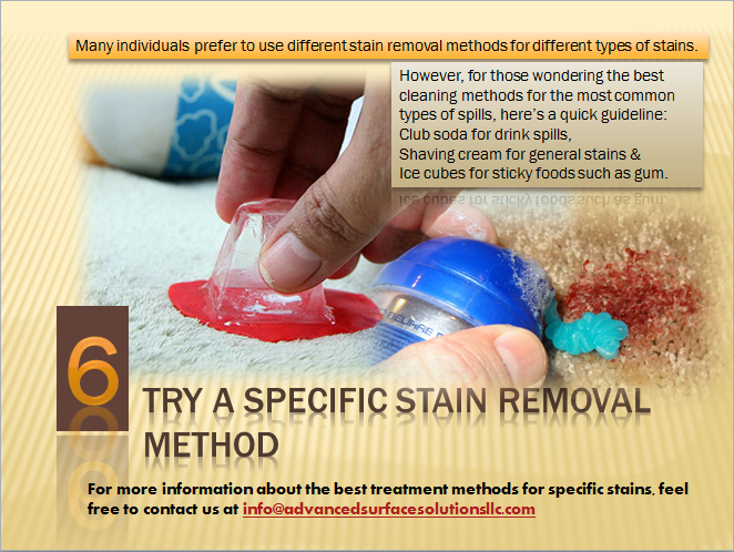 Its Better To Try Specific Stain Removal Method Where Club Soda For Drink Spills Shaving Cream For Stain Remover Carpet Shaving Cream Carpet Cleaning Hacks