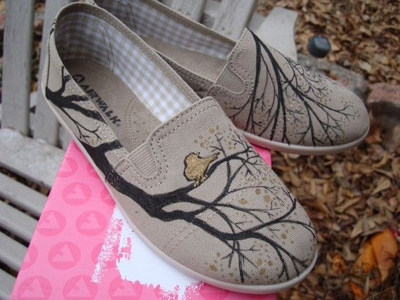 diy painted canvas shoe inspiration