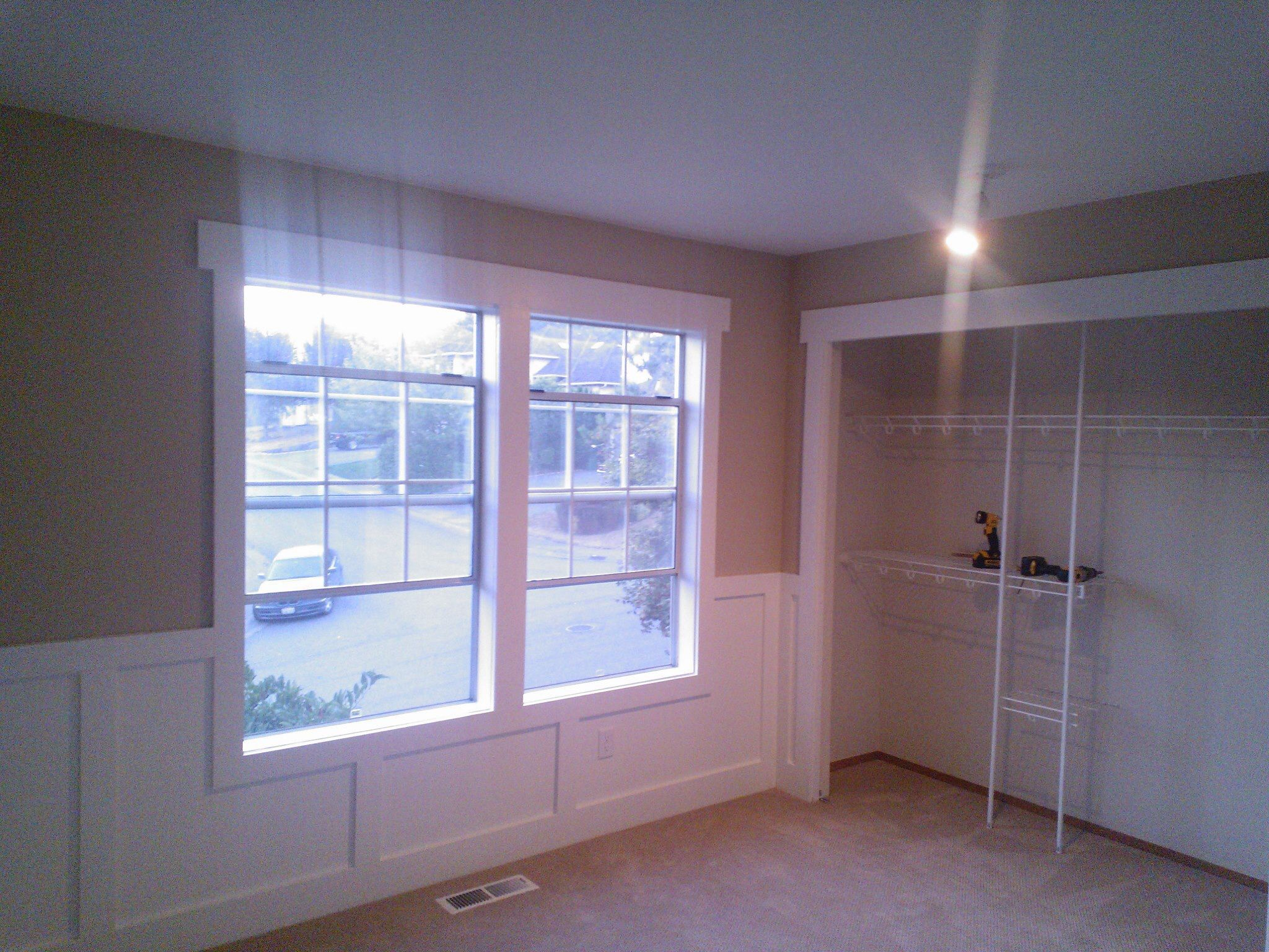 Wainscot solutions inc custom assembled wainscoting - Wainscoting Around A Window