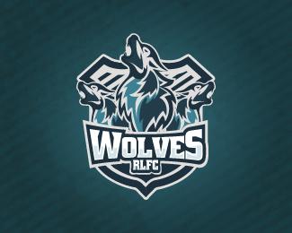 wolves by OLIVERAKOS - Sports Logo - logopond.com - #logo #design