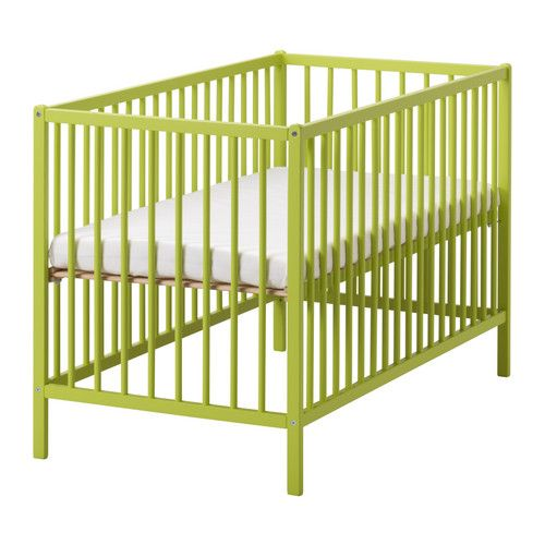 Design Trend Neutral Walls With Pops Of Bold Color Ikea Crib Baby