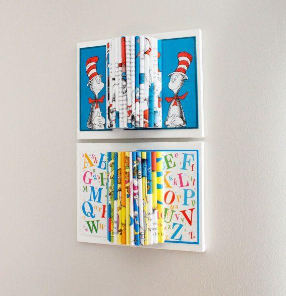 Dr Seuss Room Decor Wall Art Kids Book By Yinsteadofi 55 00