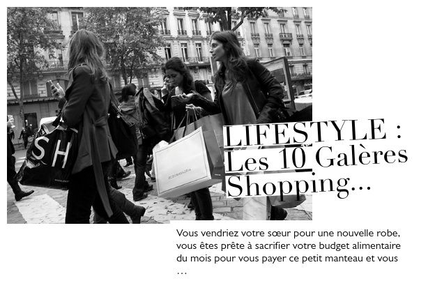 LIFESTYLE : Les 10 galères Shopping...