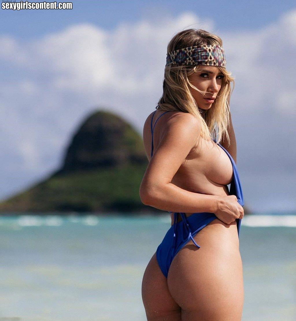 8 hot blonde babe sara underwood spicy butt tghd47 721x782 | ass