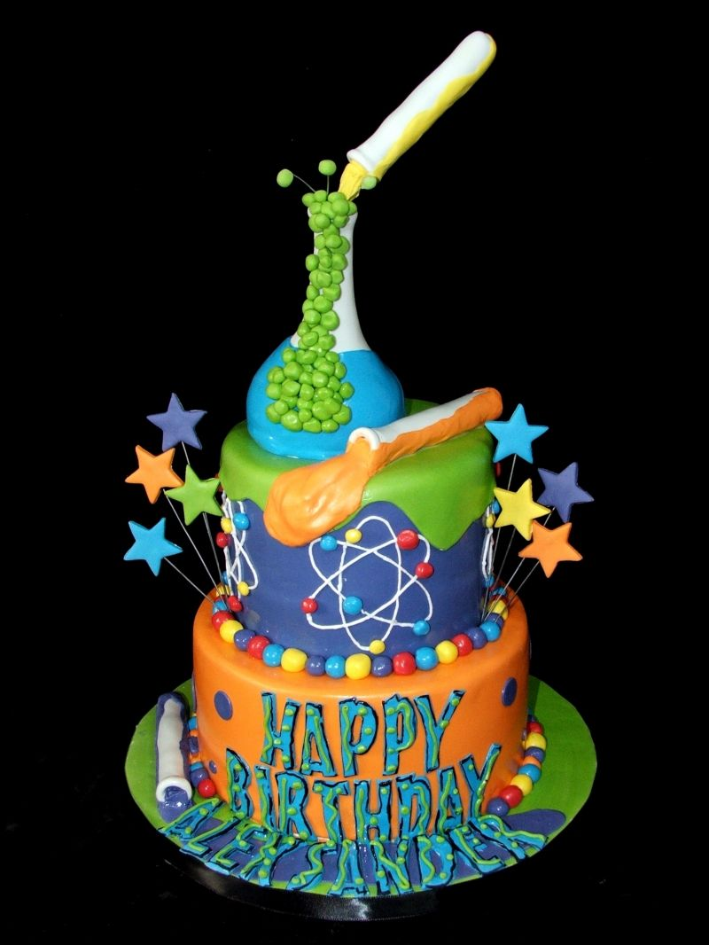 Marvelous Science With Images Science Cake Mad Science Party Science Funny Birthday Cards Online Elaedamsfinfo