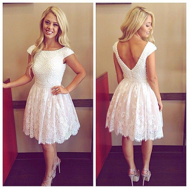 vestidos blancos de fiesta con encaje - buscar con google | vestidos