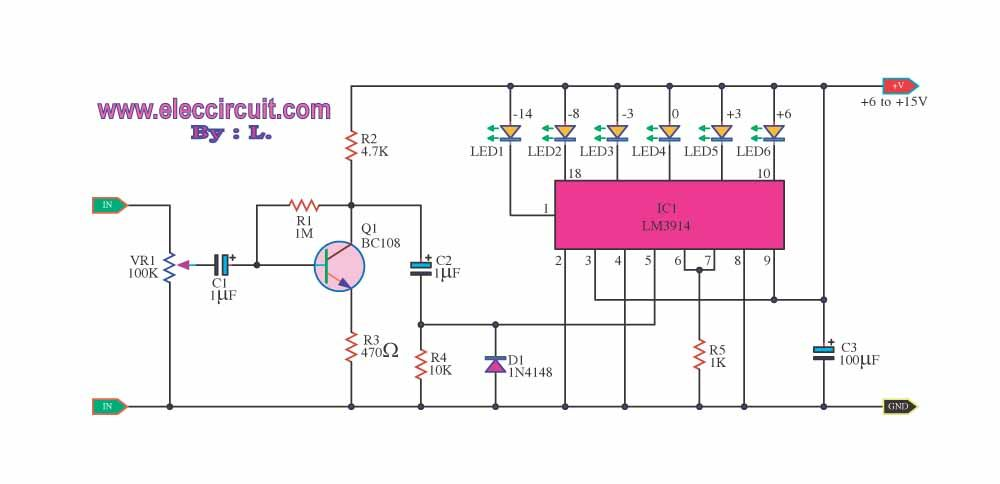4 led voltage indicator circuits eleccircuit com circuitsthis is four circuits of led voltage indicator are simple and easy to builds for check voltage battery and others, use as zener,transistor,lm339 and more