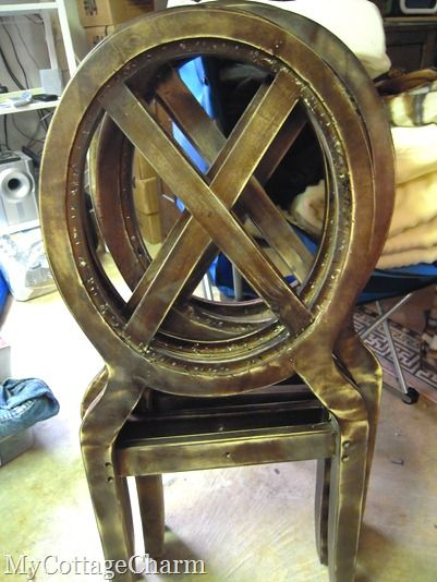 how do you upholster a louis chair | Reupholster chair ...