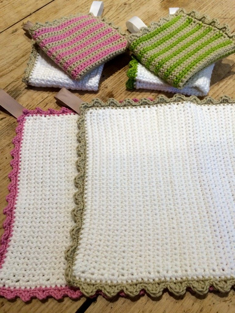 Crochet with Kate - fabulous facecloths on the LoveCrochet blog ...