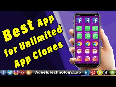 Best App For Unlimited App Clones Android App App Clone Hindi Urdu Youtube In 2020 Android Apps Technology Lab Parallel Space App