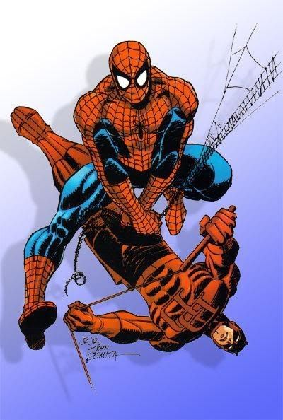 John Romita & John Romita, Jr. - Spider-Man & Daredevil