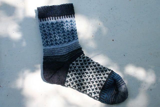 Reetselig: Socke no2 von Stine und Stitch