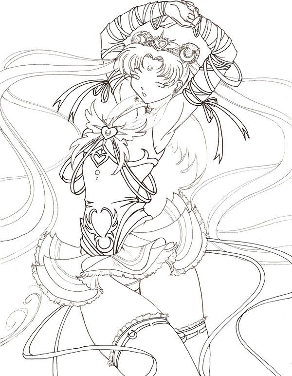 Millennium Senshi Sailor Moon Sailor Moon Coloring Pages Sailor Moon Coloring Books