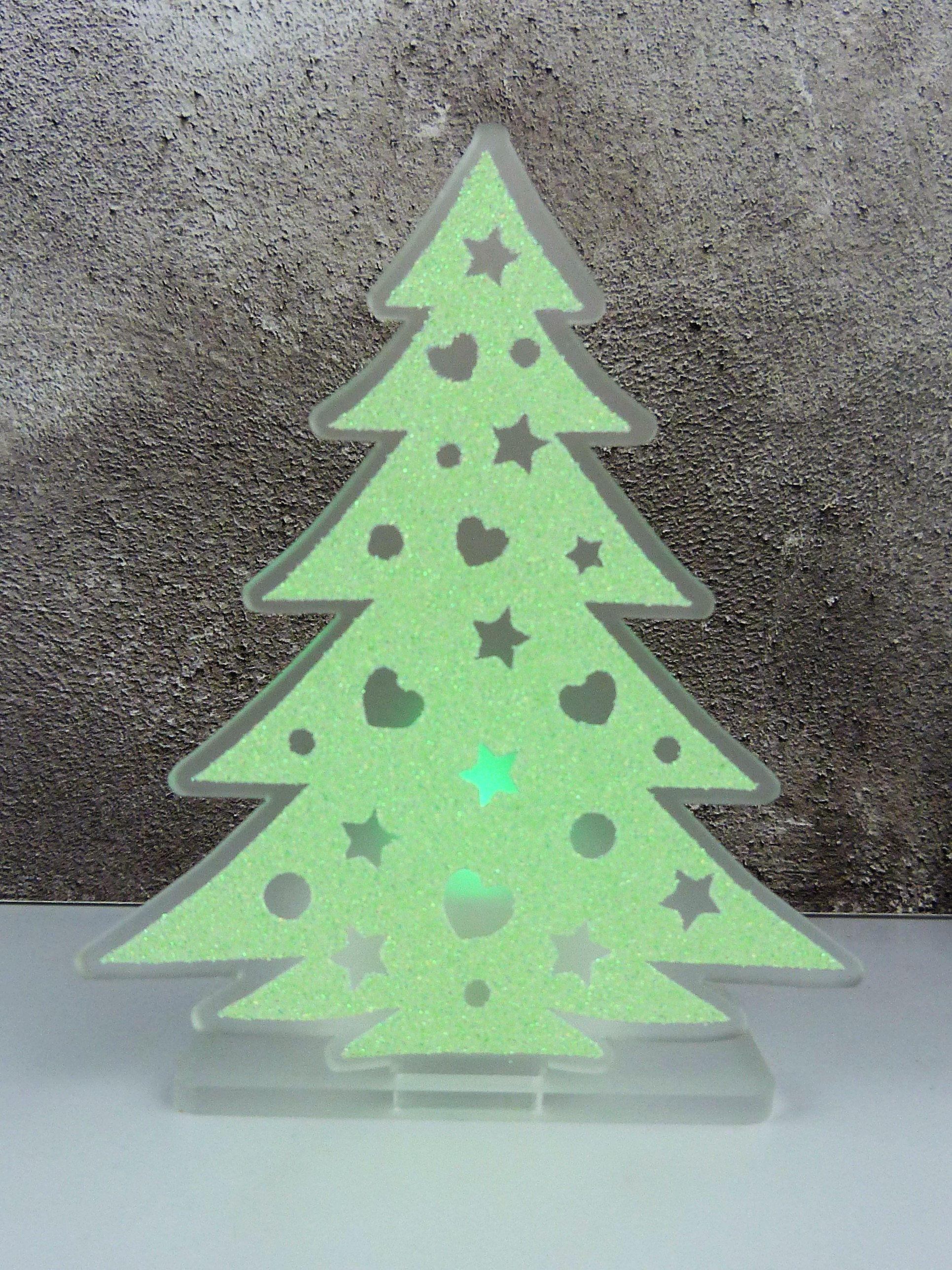 Christmas Tree Tea Light Holder, Led Tea Light Holder, Christmas