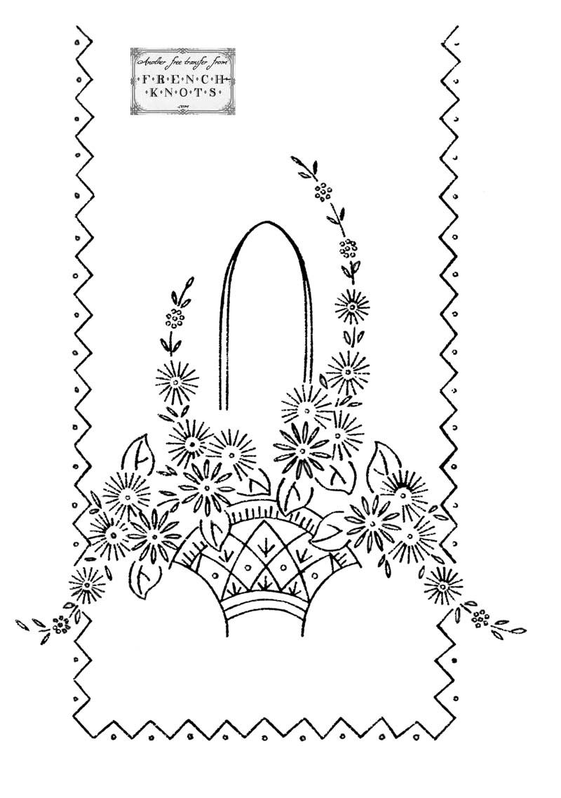 Embroidery transfer patterns flowers baskets hearts and roses embroidery transfer patterns flowers baskets hearts and roses bankloansurffo Gallery