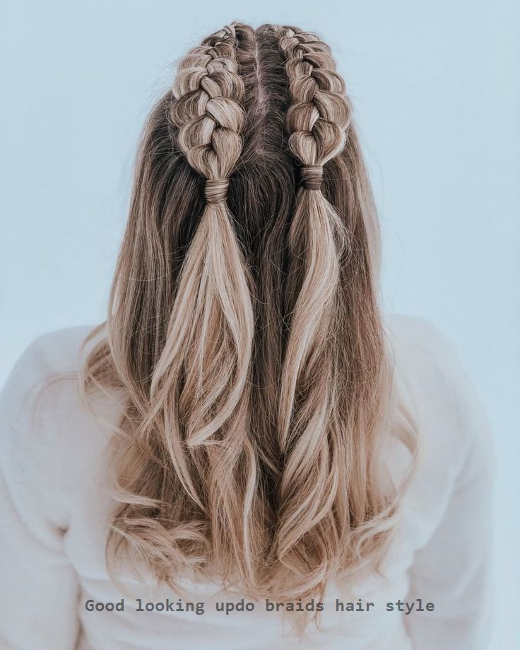 New Pic Half Braided Hairstyle Popular Your Braid Customer Popular Effortless Trendy Hairstyle H Medium Length Hair Styles Hair Lengths Easy Hairstyle Video