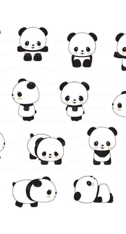 40 Ideas For Wall Paper Tumblr Fofos Animais Cute Panda Wallpaper Panda Drawing Panda Wallpapers