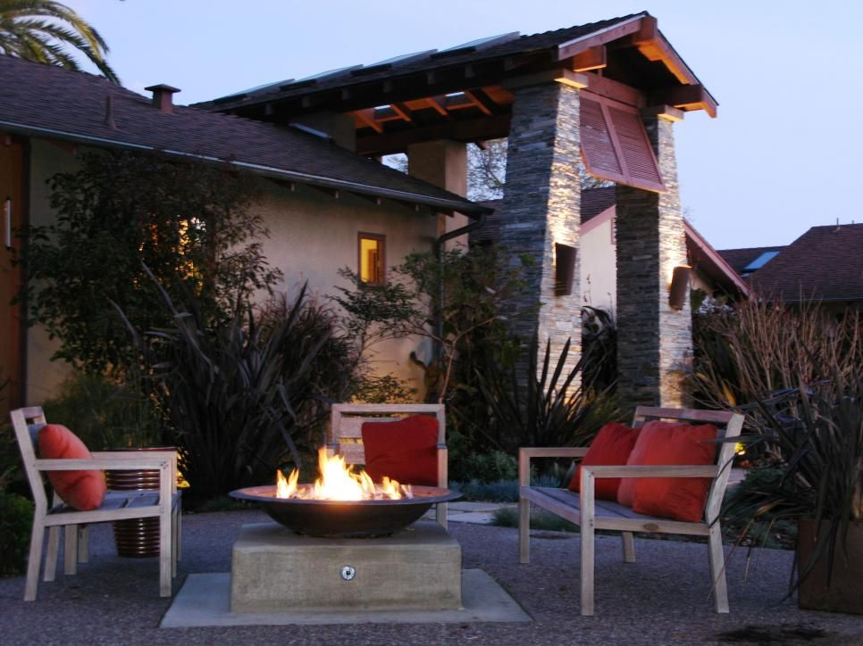 An outdoor fire pit does more than create ambiance — you