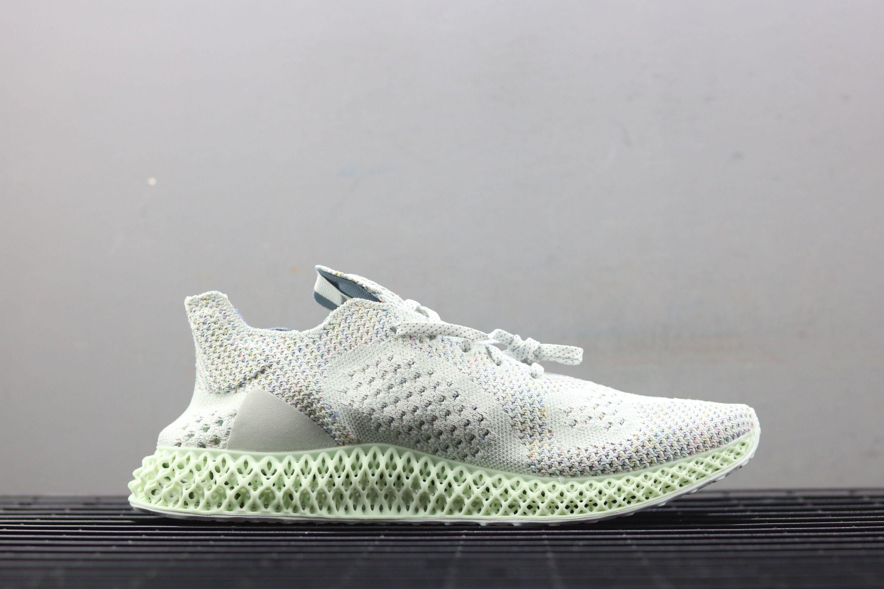 Invincible x Adidas Consortium Runner 4D White Running