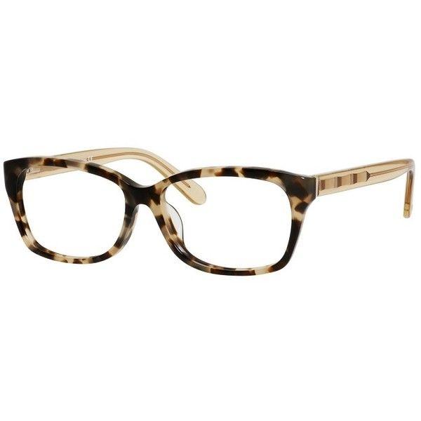 Kate Spade Demi/F Camouflage Light Champagne Frame Eyeglasses ($90 ...