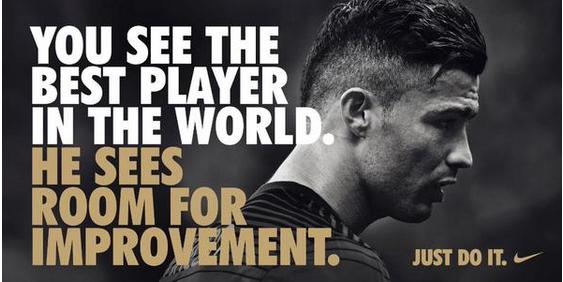 Vislumbrar diseñador foro  Ronaldo, Nike | Just do it, Soccer quotes, Ronaldo