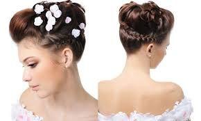 Resultado de imagen para peinados de novia bonitos y elegantes